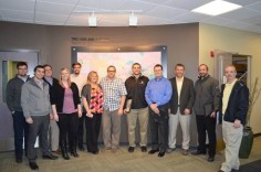 January 2014 franchise operations class with new franchisees and managers.