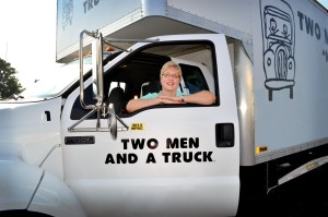 Kathleen and truck