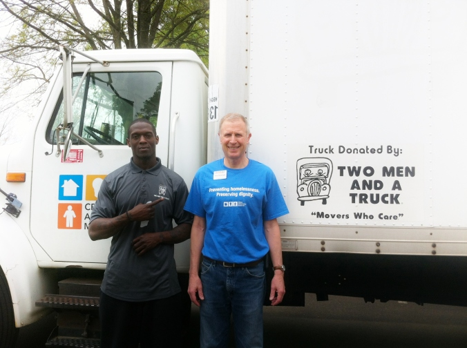 TWO MEN AND A TRUCK- Crisis Assistance Ministry