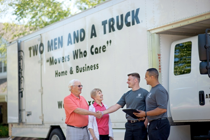 Moving retirees with comfort and ease