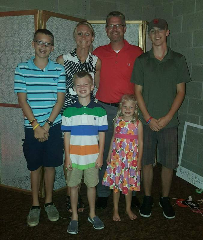 Franchisee Greg Micklos and family