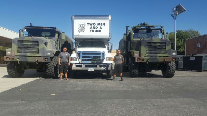 TWO MEN AND A TRUCK Movers for Military