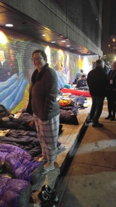 Covenant House Sleep Out TWO MEN AND A TRUCK